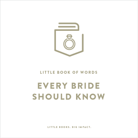 A bridal gift ,words every bride should know